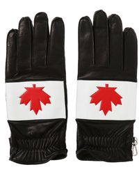 DSquared² - Patched Gloves - Lyst