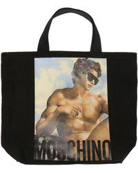 Moschino - Printed Shopper Bag - Lyst