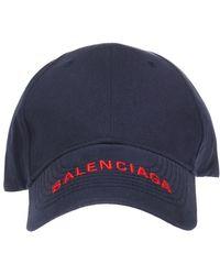 Balenciaga - Baseball Cap With A Logo - Lyst