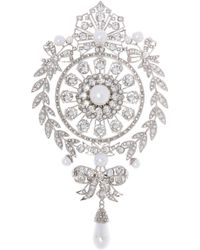 Givenchy - Encrusted Brooch - Lyst