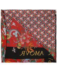 Gucci - 'patchwork' Printed Shawl - Lyst