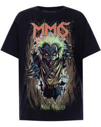 MM6 by Maison Martin Margiela - Printed T-shirt - Lyst