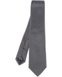 Emporio Armani - Patterned Tie - Lyst