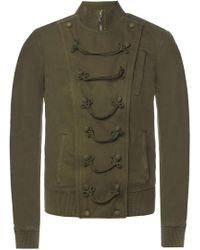 Saint Laurent - Military Style Jacket - Lyst