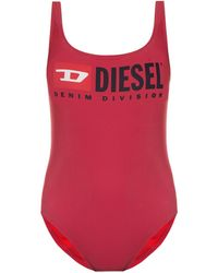 DIESEL - One-piece Swimsuit With Logo - Lyst