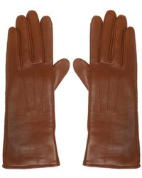 Isabel Marant - Perforated Leather Gloves - Lyst