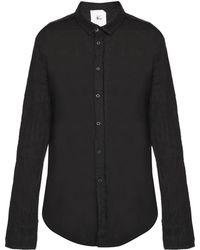 Lost & Found | Raw-trimmed Shirt | Lyst