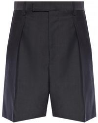 Junya Watanabe - Pleated Shorts - Lyst