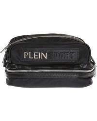 Philipp Plein | Metal Logo Wash Bag | Lyst