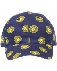 Lyst - Versace Medusa Baseball Cap in Black for Men 3eef1e077401