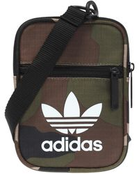 Lyst - adidas Originals Flight Bag In Red D98926 in Red for Men b2bd5ab1aef28