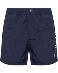 73f34fa5d6 KENZO Purple Eighties Shorts in Purple for Men - Lyst