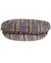 Isabel Marant - Checked Flat-topped Hat - Lyst