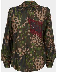 Vivienne Westwood - Pianist Shirt Green Camouflage - Lyst