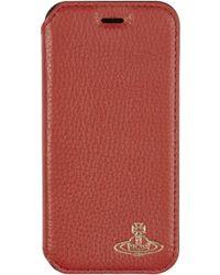 Vivienne Westwood   Iphone 7/8 Wallet Case Red   Lyst