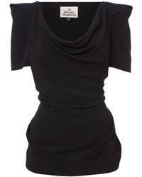 Vivienne Westwood - Virginia Top Black - Lyst