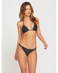 47d22d0a39a Volcom Running Spirit Tiny Bikini Bottom - Lyst