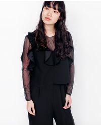 Just Female - Vega Jumpsuit / Black - Lyst