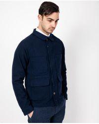 Apolis - Wool Chore Jacket / Indigo - Lyst