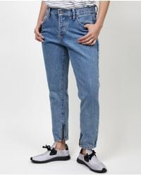 Objects Without Meaning - Owm Boy Zip Jean / Acid Blues - Lyst