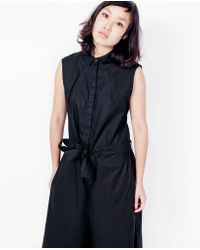 Kowtow - Sunday Jumpsuit / Black - Lyst