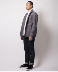 Dillon Montara - Grey Tweed Chore Coat - Lyst
