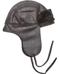 Gosha Rubchinskiy - Black Chapka Hat - Lyst
