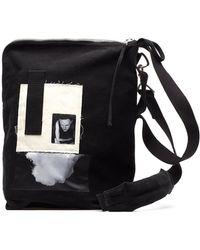 Rick Owens Drkshdw - Patchwork Bucket Shoulder Bag - Lyst c7ea5f25bbbe6