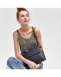Warehouse - Slip Pocket Buff Crossbody Bag - Lyst