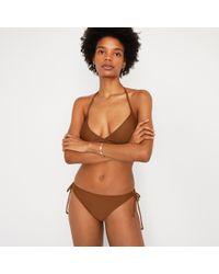 df8f01102b9ab Warehouse - Plain Tie Side Bikini Bottoms - Lyst