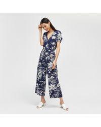 Warehouse - Fern Print Cami Dress - Lyst