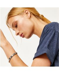 Warehouse - Metal Stretch Bracelet - Lyst