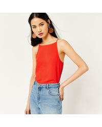 Warehouse - High Neck Camisole - Lyst