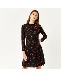 Warehouse - Snowdrop Floral Print Dress - Lyst