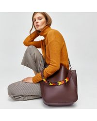 Warehouse - Woven Strap Shoulder Bag - Lyst
