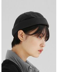 bad6a1c0d78 Lyst - Objects Without Meaning Beanie In Charcoal in Gray