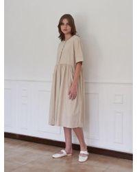 W Concept - Coco Linen Dress_3color - Lyst