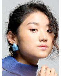 VON DITOLE - Celebrate Blue Earrings - Lyst