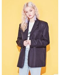 Blank - Soft Tailored Jacket - Bk - Lyst