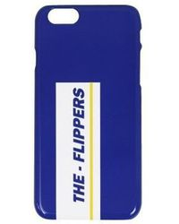 W Concept - The Flippers Phone Case_blue - Lyst