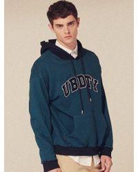 W Concept - [unisex] Ubdty Logo Hoodie Sweatshirts_lt172 - Lyst