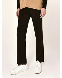 LIUNICK - Have Style Wide Slacks_black - Lyst