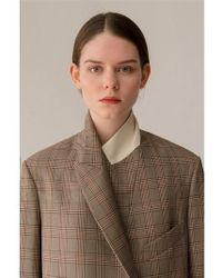 AEER - Jacket Glen Check Wool Bg - Lyst