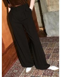 COLLABOTORY - Bacma6005m Belted Wide Trousers - Lyst