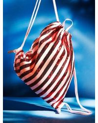 UNDER82 - Shinning Drawstring Bag Red - Lyst