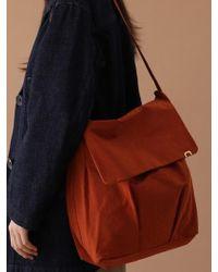 UNDERCONTROL STUDIO - Ladder Bag - Wrinkle - Npc - Brick Orange - Lyst