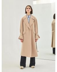 COLLABOTORY - Baama1001m Soft Oversize Belted Trench - Lyst