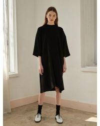 NILBY P - High Neck Dress Bk - Lyst