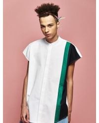 Drink Beer Save Water - [unisex] Line Sleeveless Shirts - Lyst