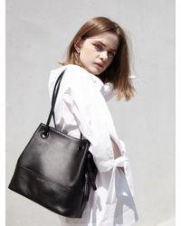 ATCLIP - Knot Bag Small_black - Lyst